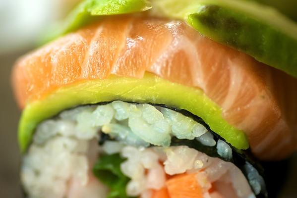 Rainbow sushi....nam, nam