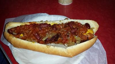 Belly Buster Hotdog
