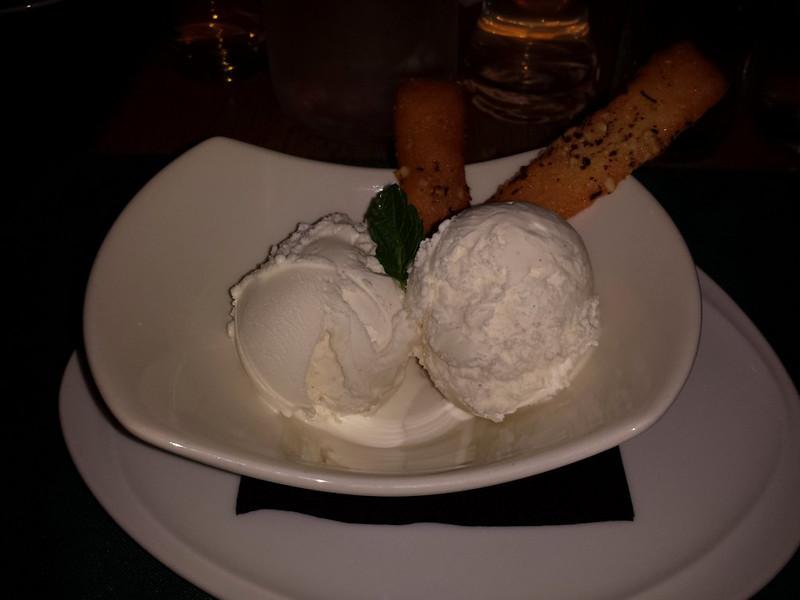 "Vanilla Ice Cream. Served in ""Fresco"" in Teignmouth<br /> <br /> 13/11/14"