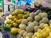 Papayas, cantaloupe, grapefruit.  I love these large papayas!  I always buy at least one.