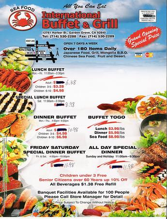 International Buffet & Grill - 1/23/06