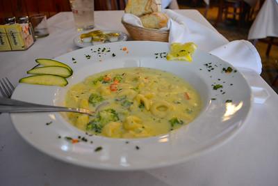 Tortellini Alfredo with Vegetables