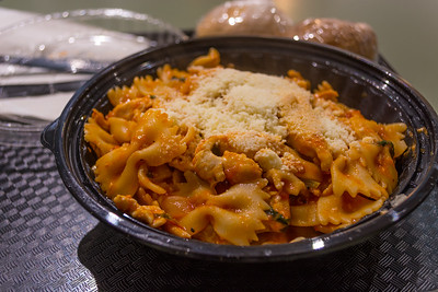 Bowtie Pasta with Parmesan Cheese