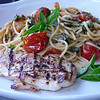 Grilled Chicken with Summer Pasta