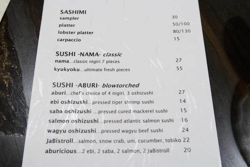 Christopher Luk - JaBistro Japanese Restaurant Koji Tashiro - March 2015 002
