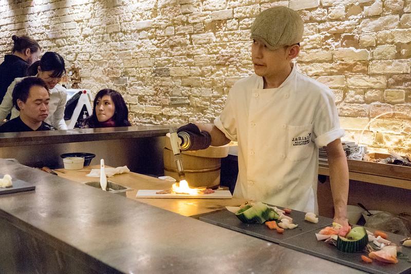 Christopher Luk - JaBistro Japanese Restaurant Koji Tashiro - March 2015 025