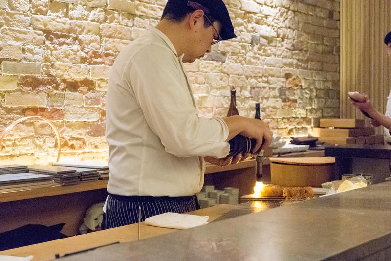 Christopher Luk - JaBistro Japanese Restaurant Koji Tashiro - March 2015 030