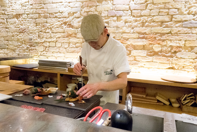 Christopher Luk - JaBistro Japanese Restaurant Koji Tashiro - March 2015 010
