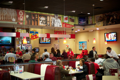 Johnny Rockets opens at the Banks