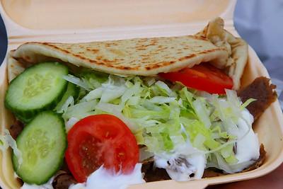 "Kebab, served in ""Perfic Plaice"" in Loughborough  08/09/12/"