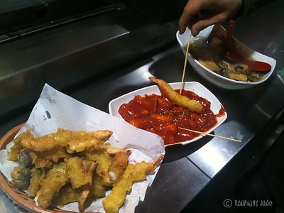 Tteokboki, street food