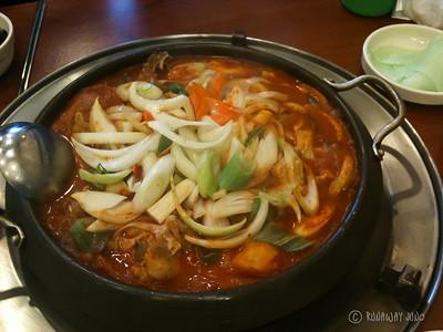 Dajdori tang, chicken soup
