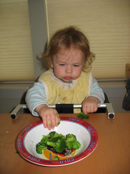 Broccoli Baby!