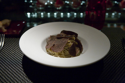 Truffle pasta.  Awesome.  Just awesome.