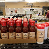 Some of the wide selection of sauces at Alpine Butcher in Chelmsford. (SUN/Julia Malakie)
