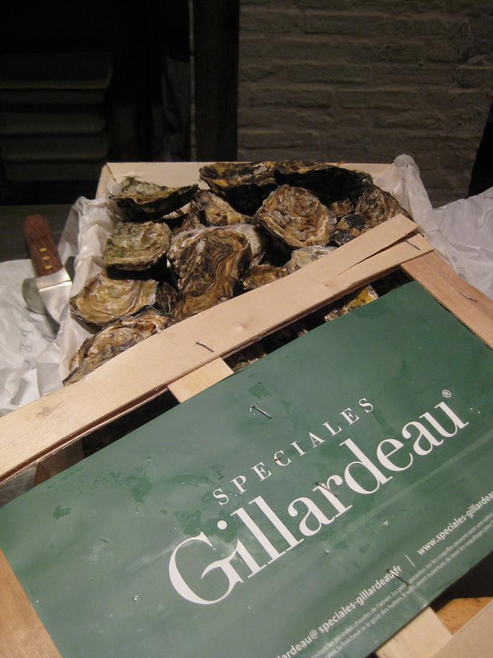 oysters, Gillardeau