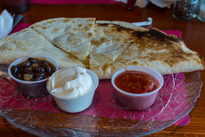 Cheese & Chicken Quesadilla