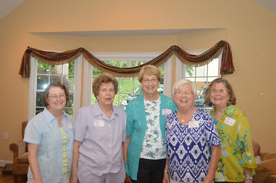 Judy Gordon, Mary Manning, Carlene Tutwiler, Judy Greene, Marilyn Rose