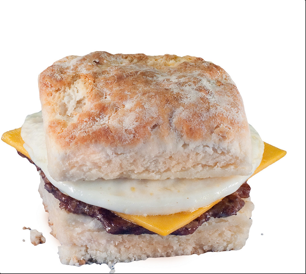 biscuit with Sausage and Cheese2