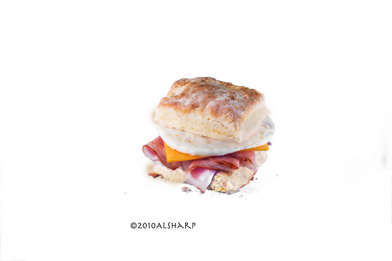 Biscuit with Ham