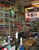Interior shot of Lina Stores.  Sausages and tortellinis made in the basement by Tony.  His cooked hams are fanbloodytastic.