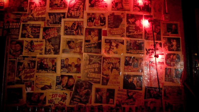 One of the walls at Monkeychews