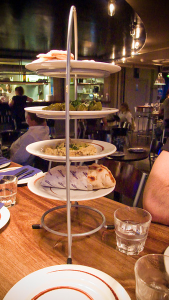 More plates of food at The Real Greek