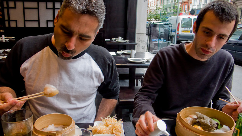 Marc and Laurent, Ping Pong Dim Sum, Soho