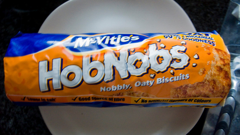 HobNobs! Now with extra...uhm...Nobbly. Actually I'd first tried these in Barbados and fell in love with them. I'd forgotten how much I missed them! Best part is, they're only £0.70!