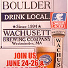 Wachusett Brewery has created a beer for the weekend, Longsjo Lager, which will be available Friday, Saturday and Sunday during Longsjo Classic weekend. SENTINEL & ENTERPRISE / Ashley Green