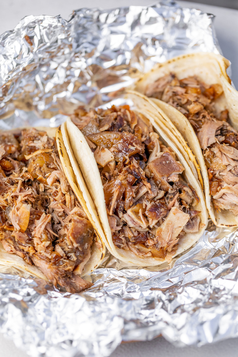 Carnitas Momo has some of the best tacos in LA and it's also on the dineL.A. Taco Trek.