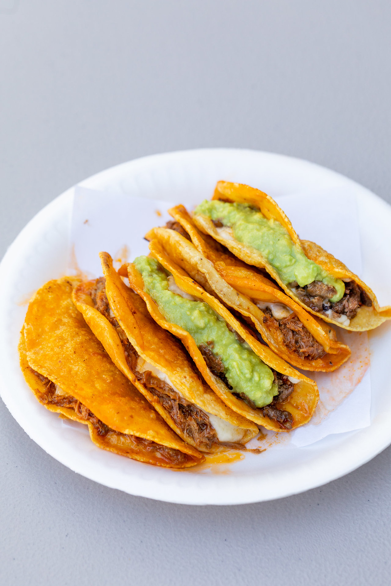 Tacos y Birria La Unica serves some of the best tacos in LA, and are also on dineL.A.'s Taco Trek