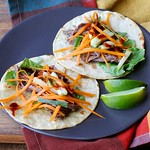 Slow Cooker Korean-Style Beef Tacos