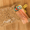 Dehydrated soy beans