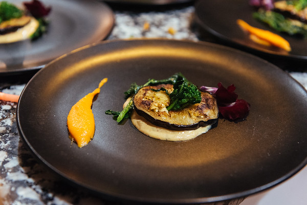 eggplant with rapini