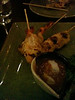 Sukho: Chicken and prawn skewers