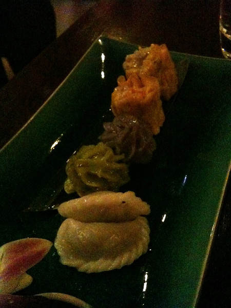 Sukho: Assorted steamed dumplings
