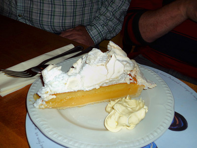"Lemon Meringue Pie - served in ""The Hare & Hounds"" in Kingskerswell 24/06/11"