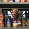Merrimack Valley Food Bank in Lowell is celebrating its 30th anniversary in 2021. Executive director Amy Pessia, in the Mobile Pantry storage and assembly area. JULIA MALAKIE/LOWELLSUN