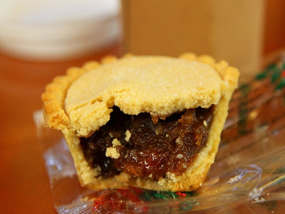 "Mince Pie from the ""Pumpkin"" Cafe  03/12/12"