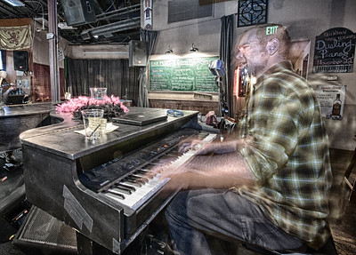 Mike Rogers - piano man