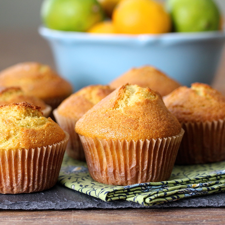 Margarita Sour Cream Muffins