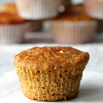 Candied Ginger and Oatmeal Muffins