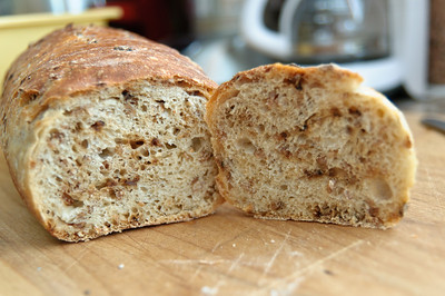 Malted Wheat Flake Bread-3182
