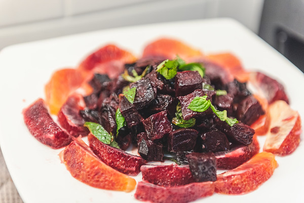 Roast Beet Salad with Grapefruit