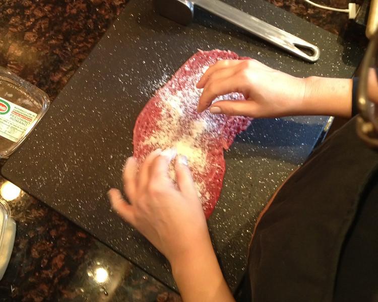 Sprinkle on the Pecorino Romano.