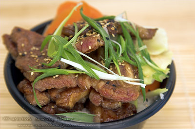 MisoYaki Beef with wok fried vegetables