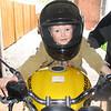 Big man in a helmet