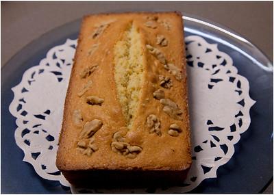 合桃牛油蛋糕