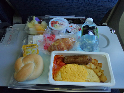 Omelette, served on board Air Canada  25/01/11